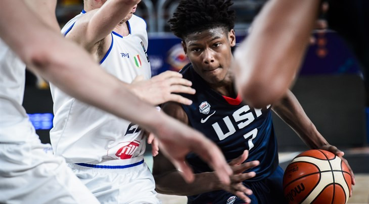 Holders United States through to quarter-finals of FIBA Under-19 Basketball World Cup