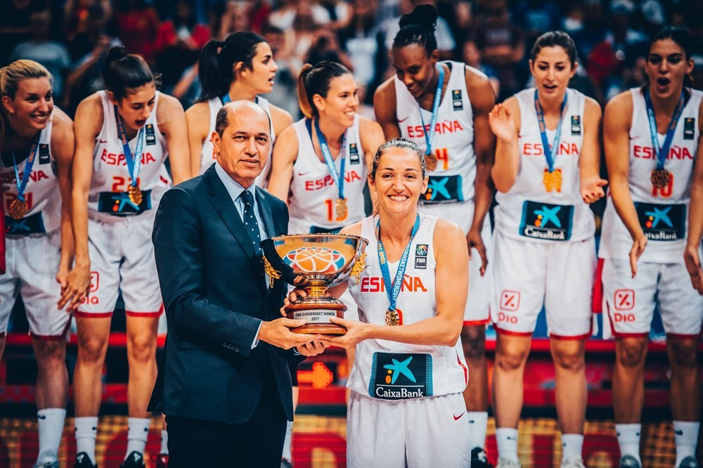 Next year's Women's EuroBasket is scheduled to be partially hosted by the 2017 winners Spain ©Getty Images