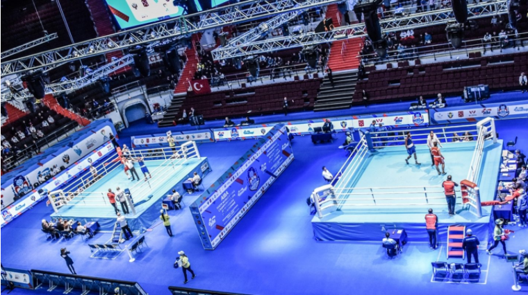 """The International Boxing Association has revealed it is currently considering several """"high-level"""" bids to host the 2019 World Championships ©AIBA"""