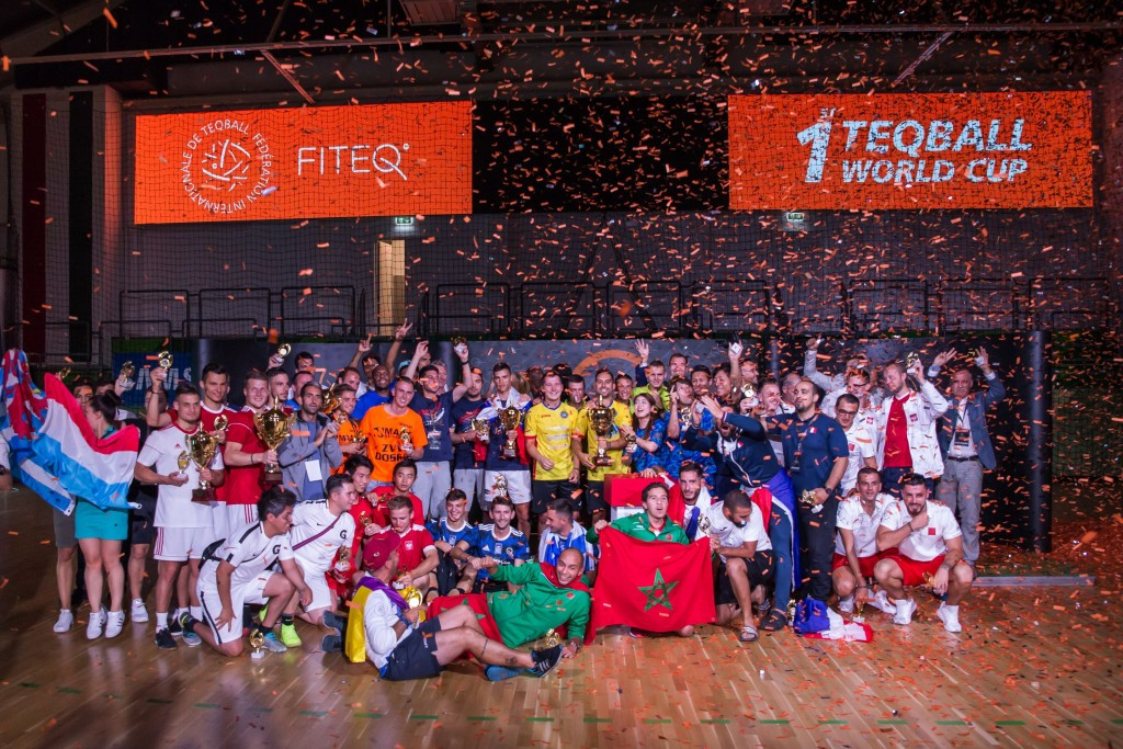 The first Teqball World Cup was contested by 20 nations ©International Teqball Federation