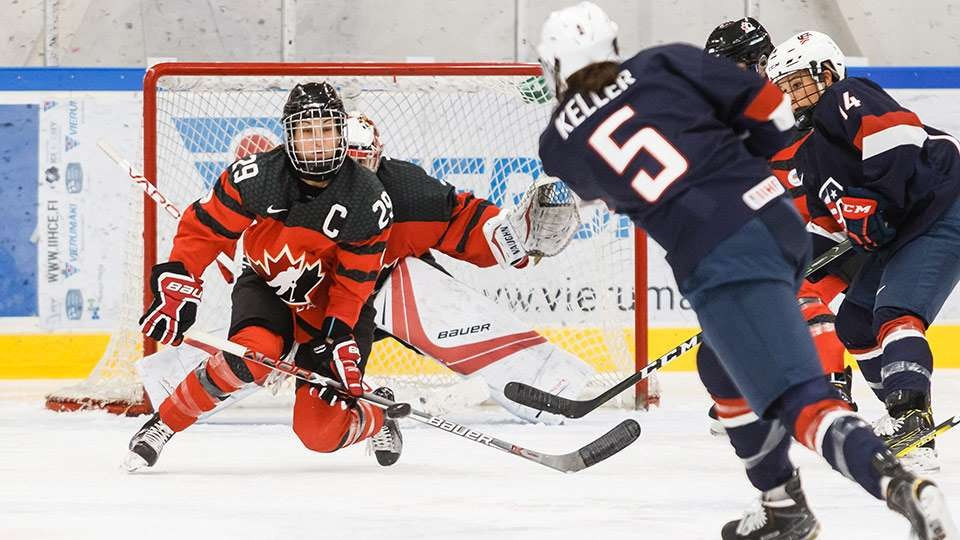 Canada's women's ice hockey team are set to face the United States later this year in an exhibition series ©Hockey Canada