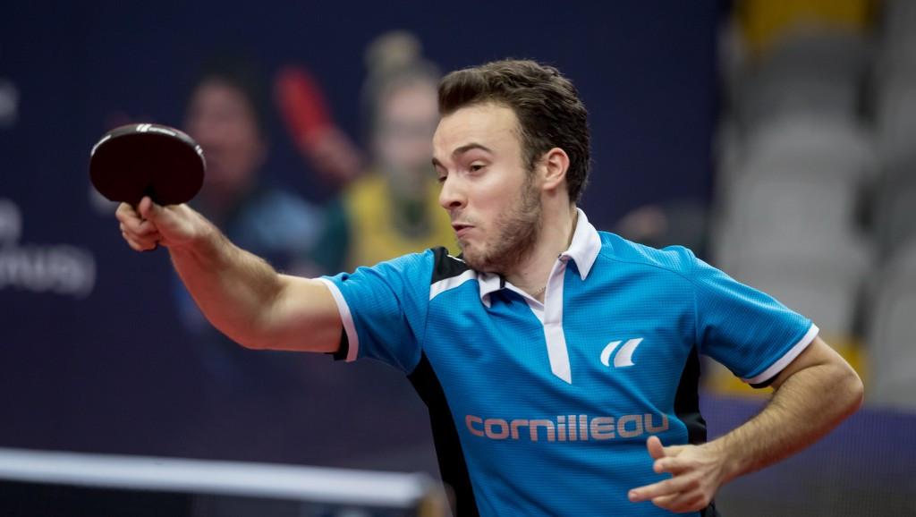 France's Simon Gauzy is through to the men's singles final ©ITTF/APAC Sport Media