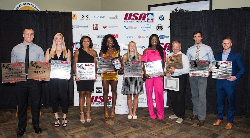 Nine USA Bobsled and Skeleton athletes earn awards at annual ceremony