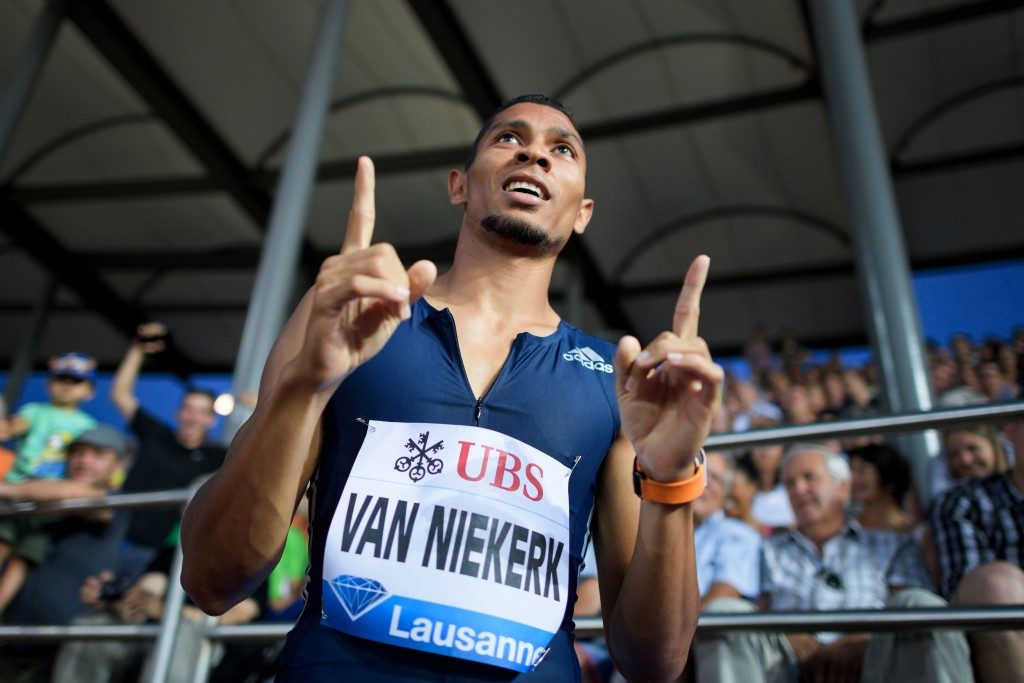 Van Niekerk sparkles on return to 400m at Diamond League
