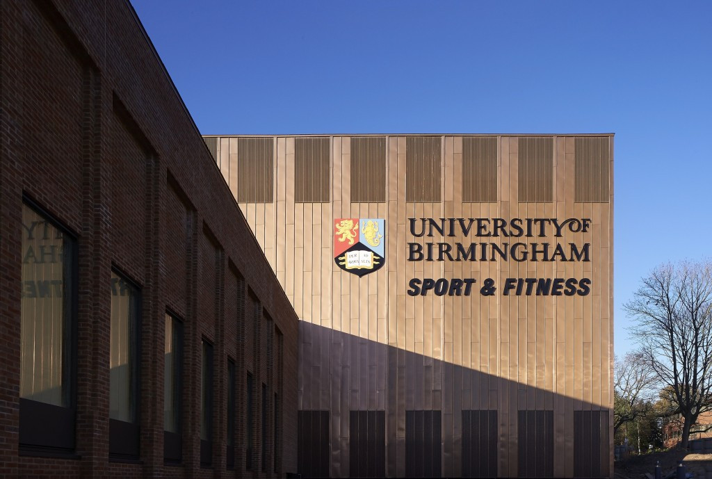 The University of Birmingham's recently renovated sport and fitness centre would be the setting for squash during the 2022 Commonwealth Games ©Birmingham 2022