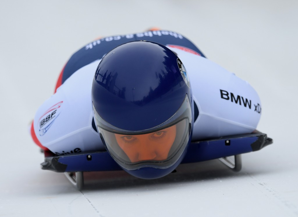 British skeleton athlete makes switch to bobsleigh