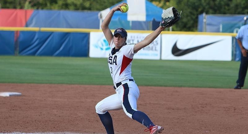 The United States beat Canada in their sole encounter today ©USA Softball