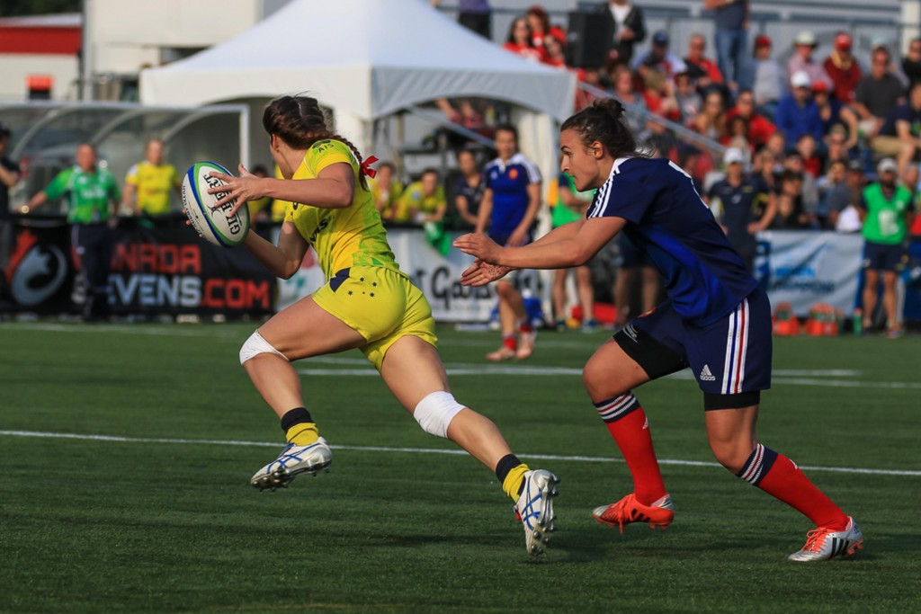Australia, Canada and New Zealand progress at World Rugby Women's Sevens with unbeaten records
