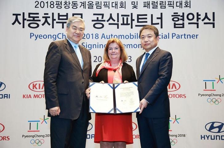 Pyeongchang 2018 unveil motoring giants Hyundai and Kia Motors as Tier One partner