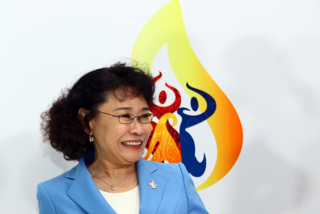 China's Zhang Haidi is the only female candidate vying for the IPC Presidency ©Getty Images