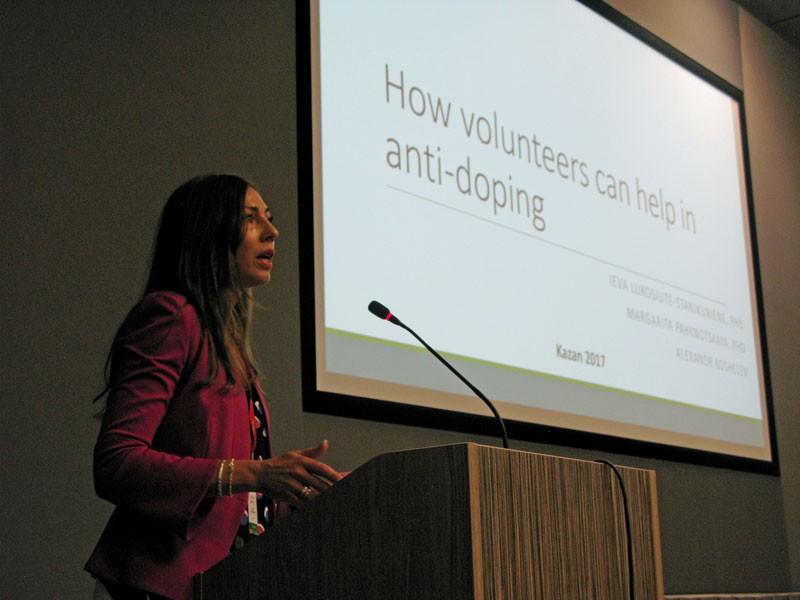 WADA experts lead lectures at FISU Volunteer Leaders Academy