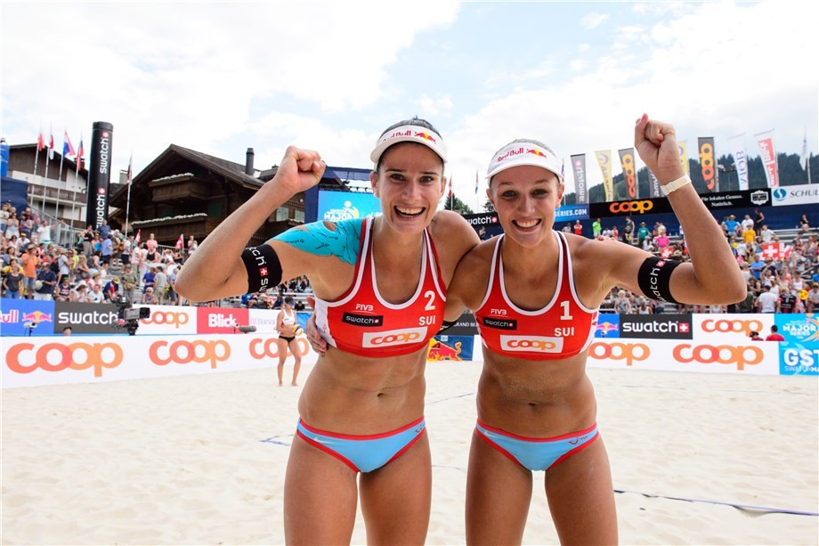 Swiss duo through to semi-finals of FIVB World Tour event in Gstaad
