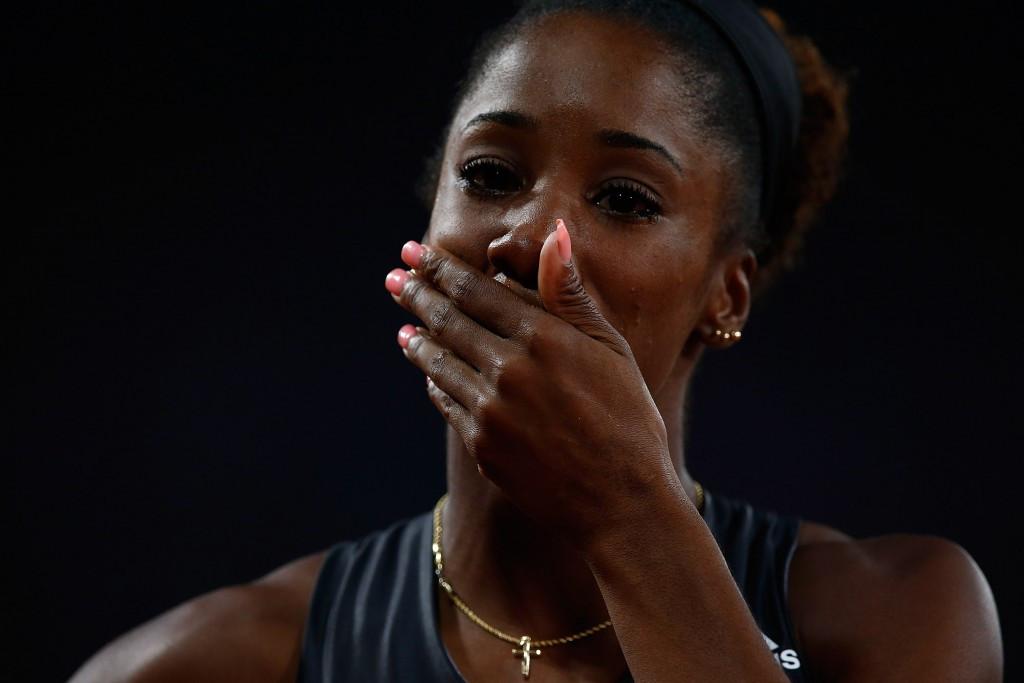 Harrison set for return at stadium where she broke world record