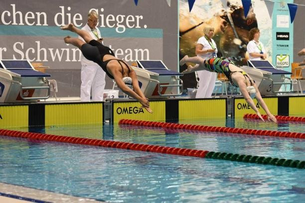 Action continued at the World Para Swimming World Series in Berlin today ©IPC