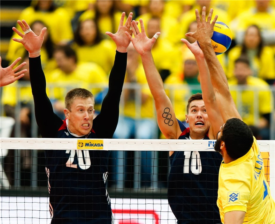 Brazil and France set-up final showdown in FIVB World League