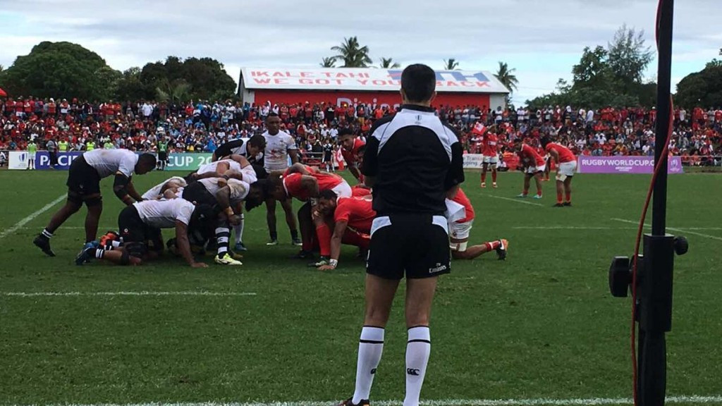 Fiji defeat Tonga to book place at 2019 Rugby World Cup