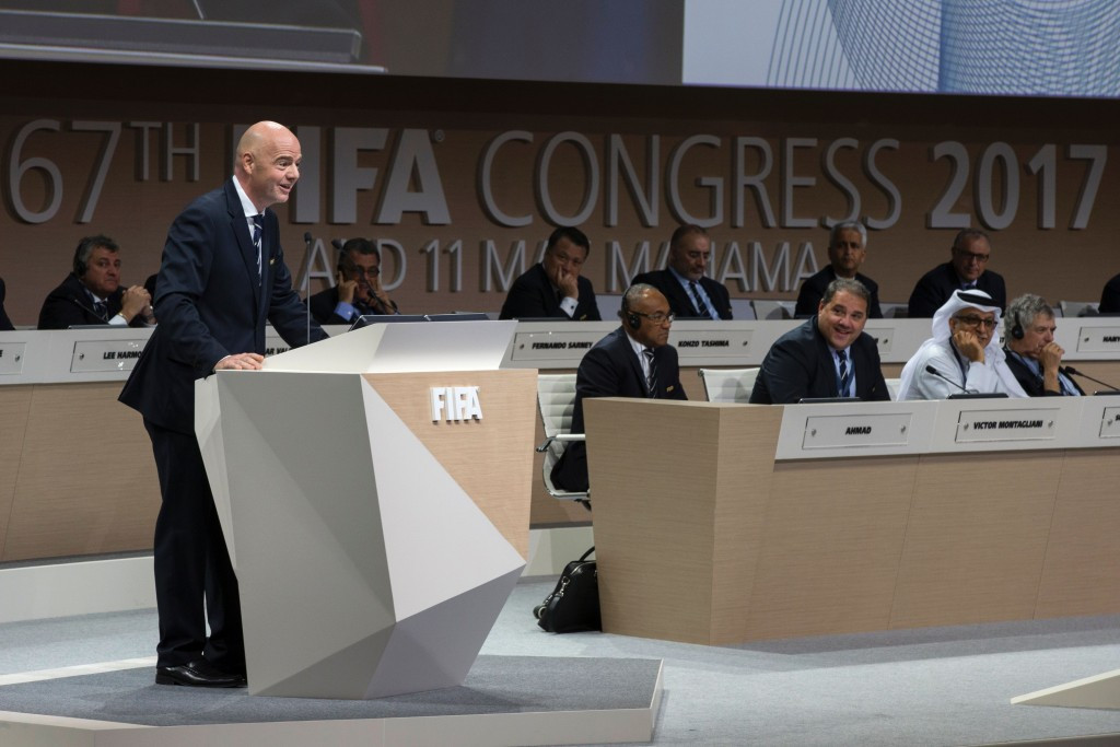 FIFA is among International Federations to have recently introduced term limits for the President ©Getty Images