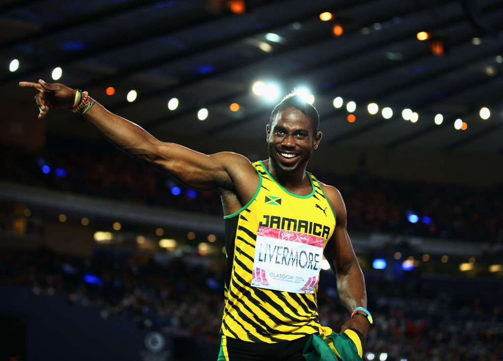 Jamaican sprinter Jason Livermore has tested positive for a banned substance ©Getty Images