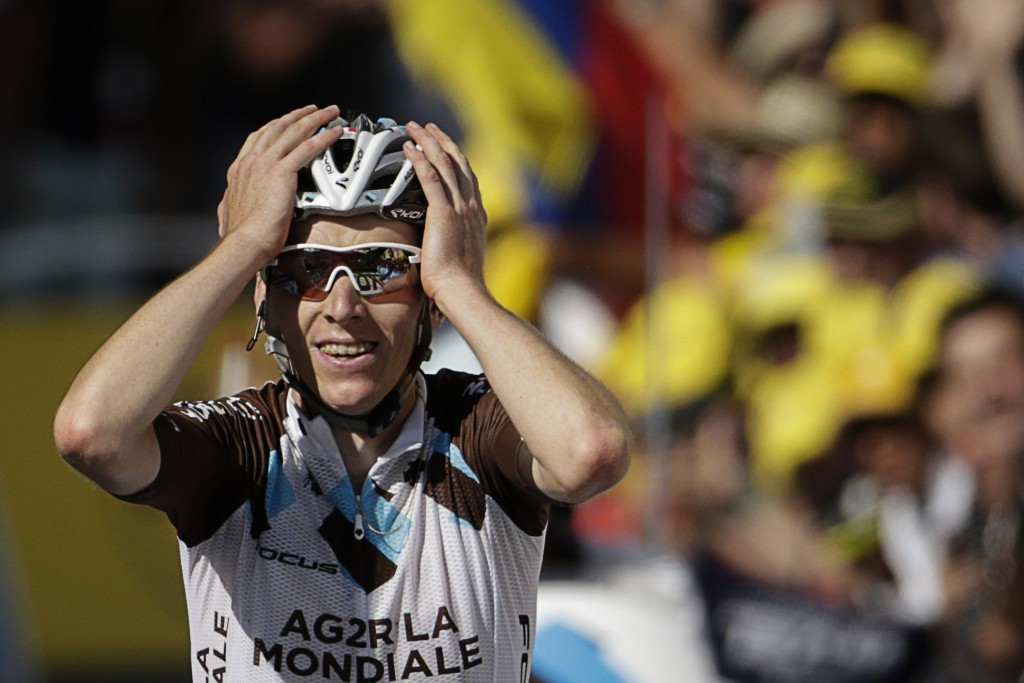 Bardet breaks clear to claim second French stage victory of 2015 Tour de France