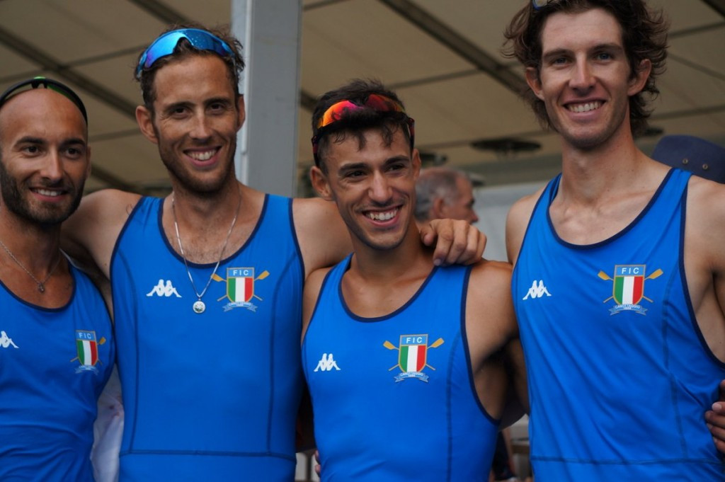 Italy claim double gold as World Rowing Cup finals begin in Lucerne