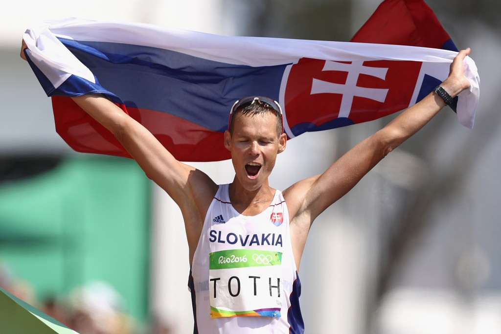 Slovakia's Matej Tóth has revealed he is being investigated for doping and will miss the IAAF World Championships in London ©Getty Images