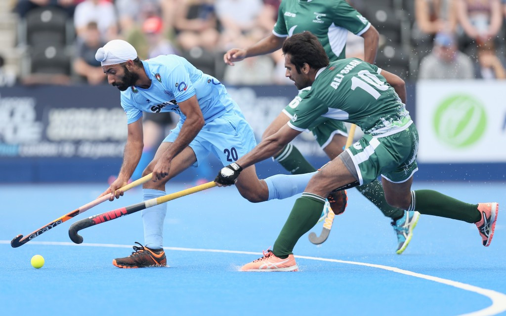 India had enjoyed two victories over Pakistan at the Hockey World League Semi-Final last month ©Getty Images