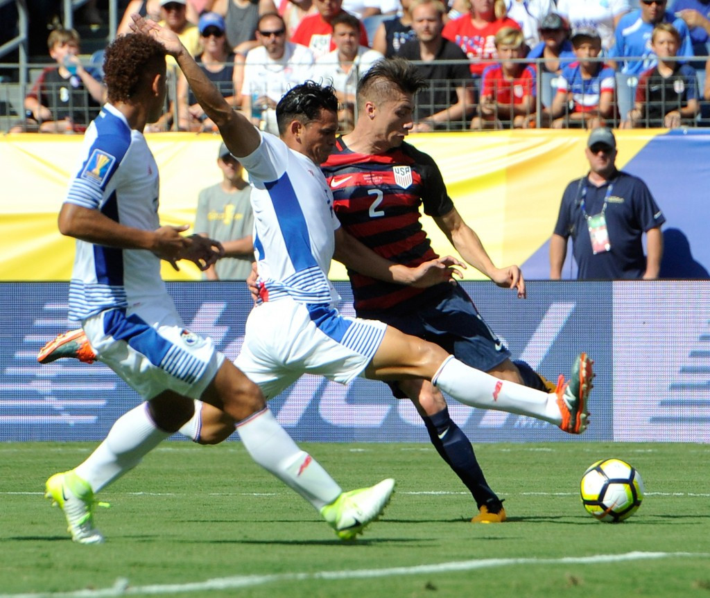 Hosts the United States were held to a frustrating 1-1 draw by Panama in their opening match ©Getty Images