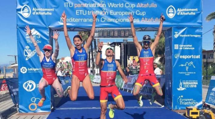 Spain dominate ITU Para-triathlon World Cup in Altafulla