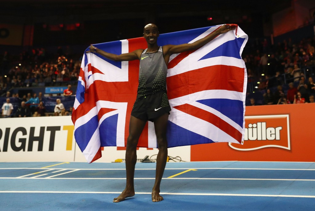 Britain's Sir Mo Farah was among the list of athletes whose medical data was hacked ©Getty Images