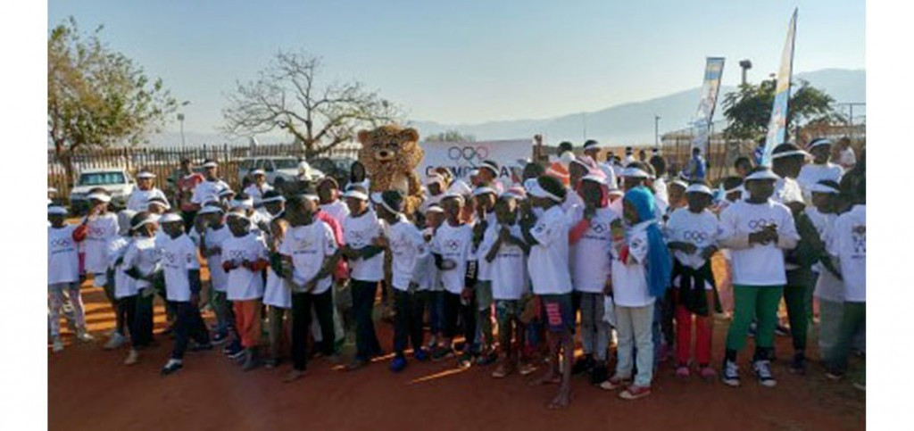 Three days of sporting events were held in Swaziland ©SOCGA