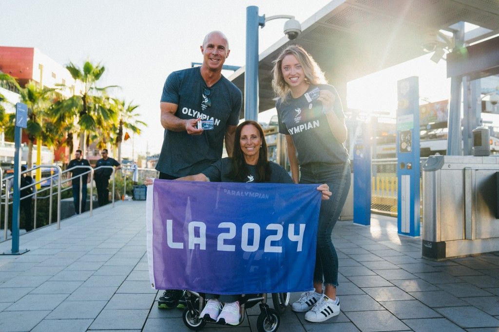 Souvenir TAP cards have been released by the Los Angeles County Metropolitan Transportation Authority ©Los Angeles 2024