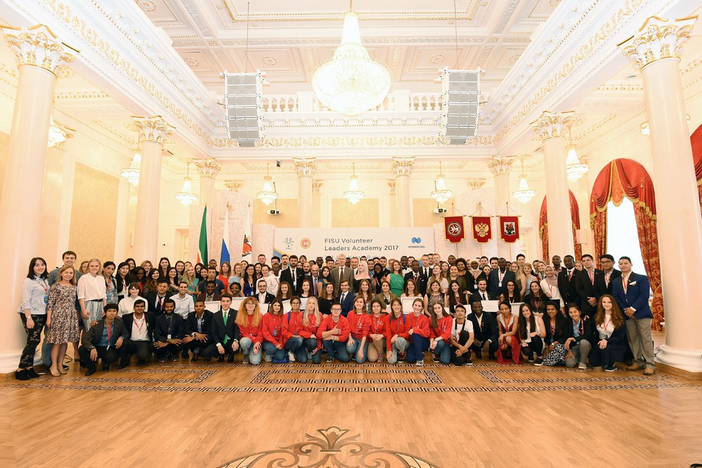 FISU President honours attendees as inaugural Volunteer Leaders Academy concludes