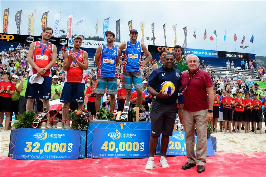 American duo victorious at FIVB World Tour event in Gstaad