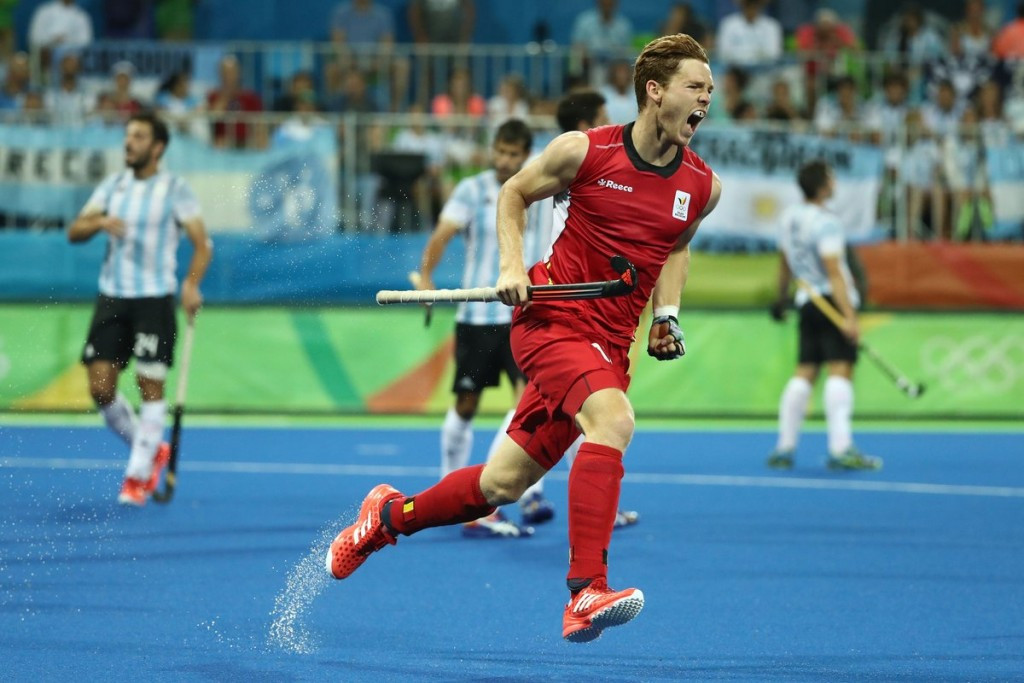 Olympic silver medallists Belgium thrash Egypt at men's Hockey World League semi-final