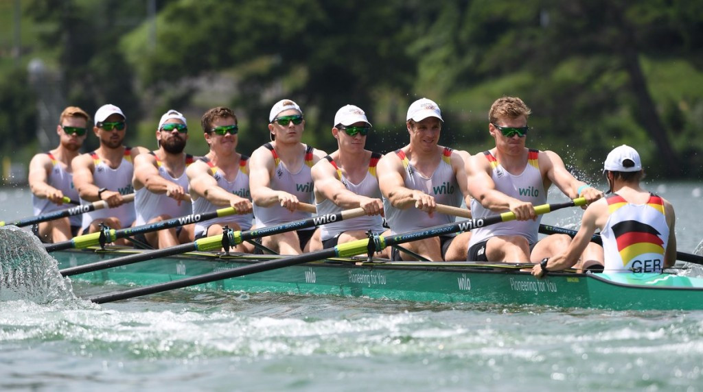 Germany claim second consecutive World Rowing Cup men's eight title