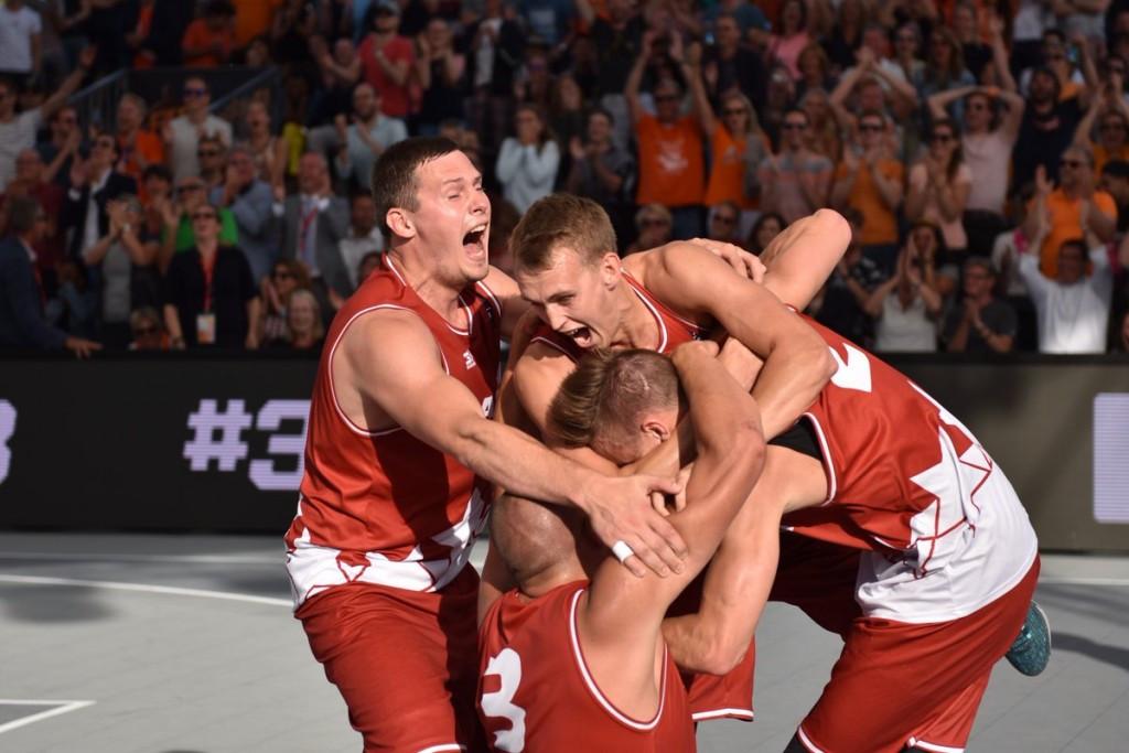 Latvia produce two upsets on way to winning FIBA 3x3 Europe Cup
