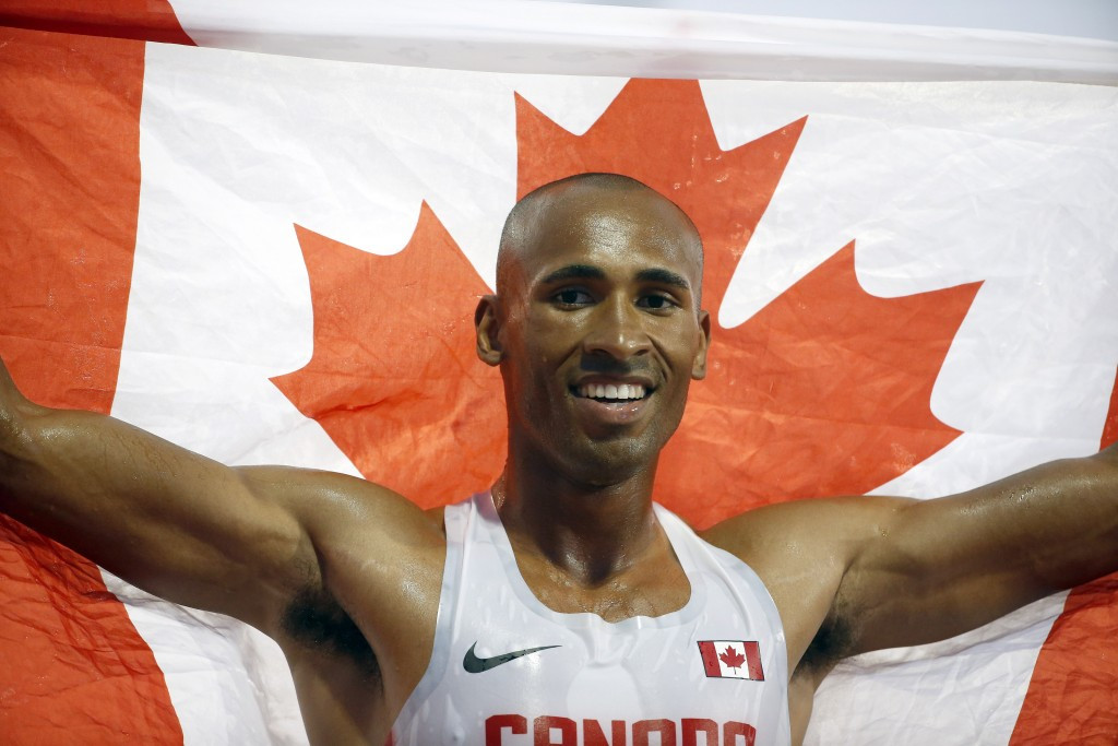 Warner breaks Pan American Games and Canadian decathlon records to claim Toronto 2015 gold