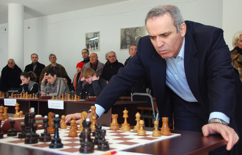 Russian grandmaster Garry Kasparov is planning to resume his chess career after more than 10 years away ©Getty Images