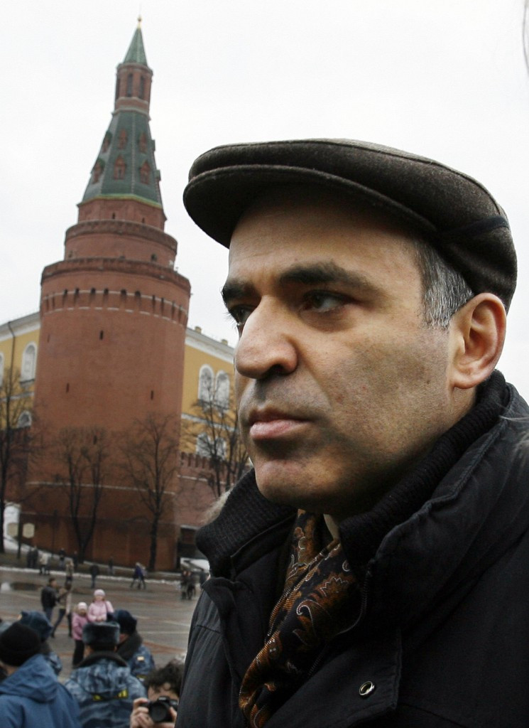 Garry Kasparov tried unsuccessfully to stand against President Vladimir Putin in the Russian election in 2008 ©Getty Images