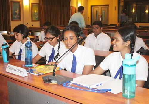 Sri Lankan Olympic Committee holds inter-school debate programme
