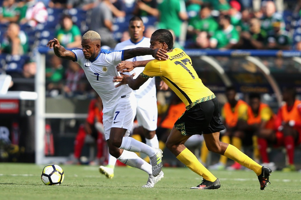 Jamaica overcame Curaçao 2-0 in the other Group C match to take place today ©Getty Images