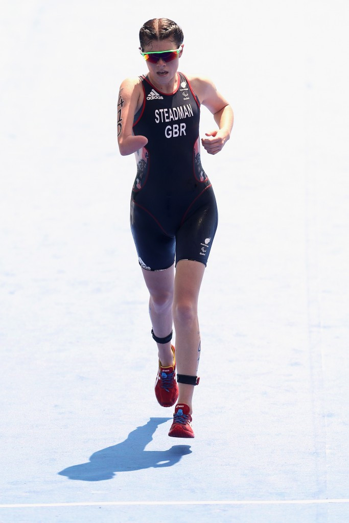 Great Britain's Lauren Steadman won the women's PTS5 competition ©Getty Images