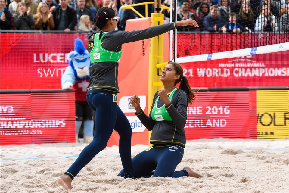 Brazilians eye title defence at FIVB Under-21 Beach World Championships