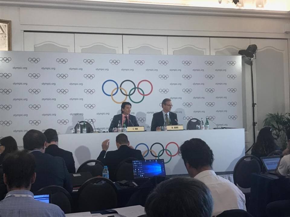 IOC executive director Christophe Dubi admitted that problems remain with Pyeongchang 2018 accommodation plans ©ITG