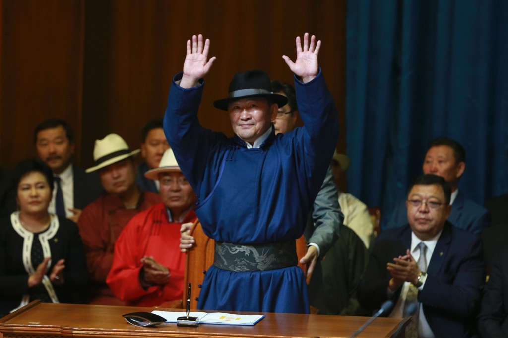 Vizer congratulates Battulga on Mongolian election victory