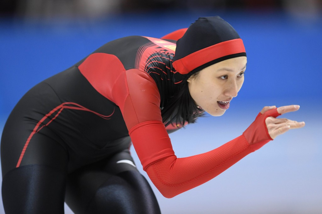 Sochi 2014 gold medallist Zhang Hong has also been nominated ©Getty Images