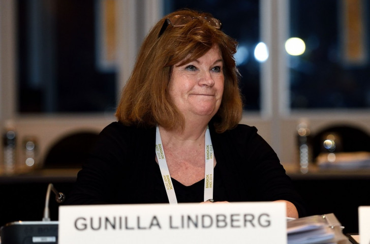Gunilla Lindberg, chair of the International Olympic Committee's Coordination Commission, led the Project Review delegation