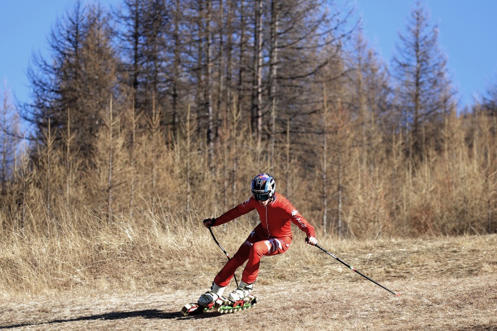 Jiri Russwurm had a particular interest in grass skiing ©Getty Images