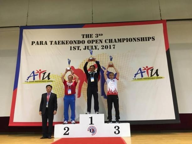 Competition took place in Chuncheon  ©World Para Taekwondo