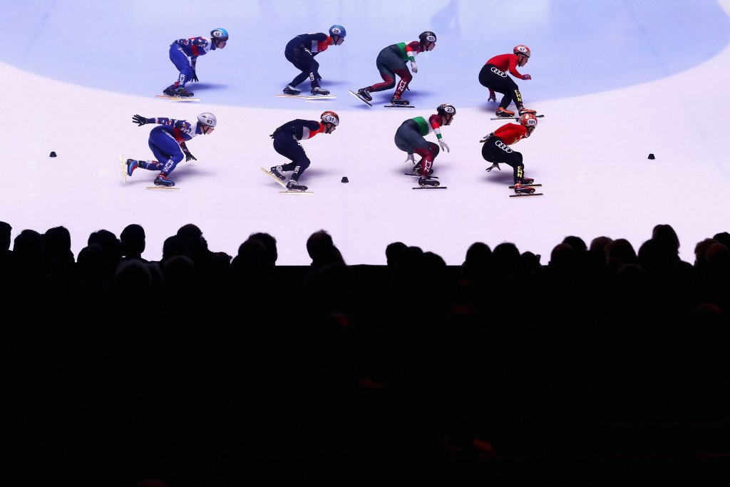 The ISU has confirmed four Short Track World Cup competitions will form part of the qualification procedure for Pyeongchang 2018 ©Getty Images